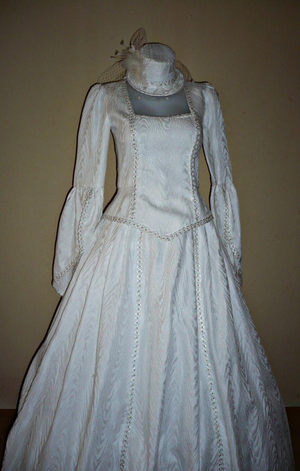 Nice Vestido De Novia Medieval Festooning - All Wedding Dresses ...