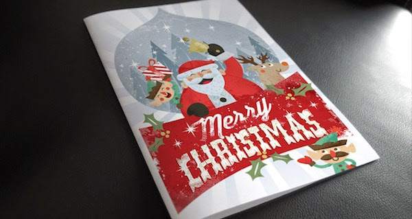 10. Christmas Card Invitation Template