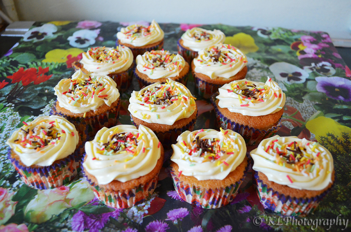 how to make vanilla cupcake fluffier