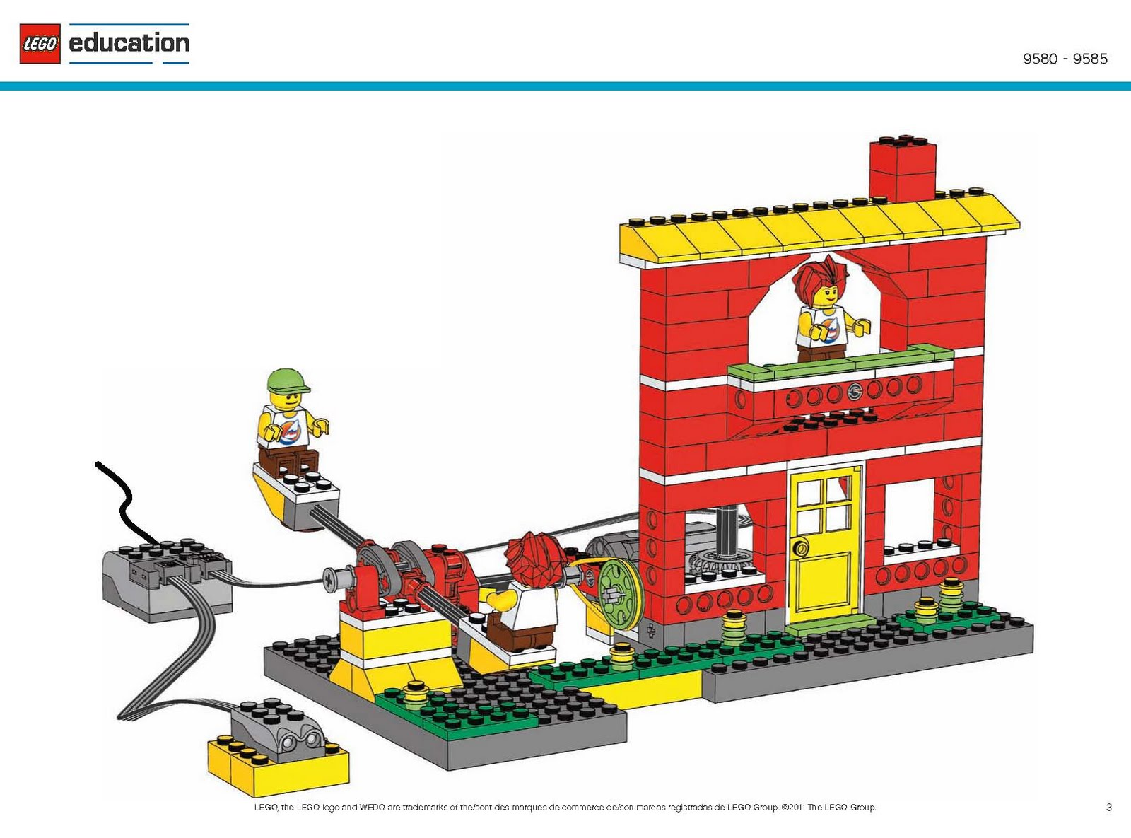 Robotics Education Centre New 9585 Lego Education Wedo Resource Set
