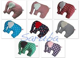 Kuschel-Elefanten