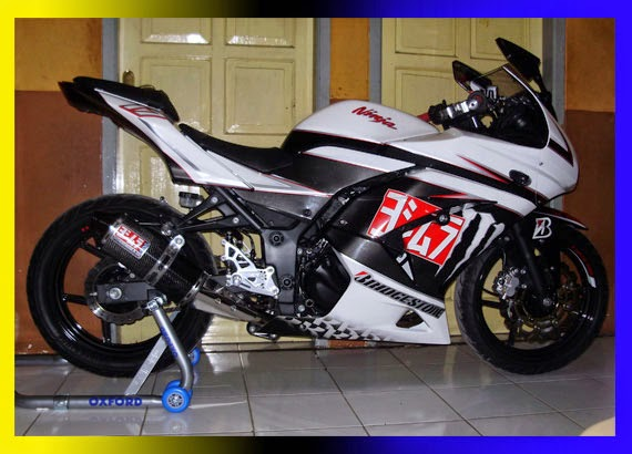 Modifikasi Kawasaki Ninja 250 ABS Racing Moto GP