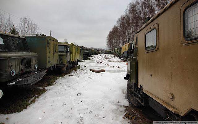 кладбище военной техники России