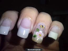 Uñas decoradas hermosas en acrilico