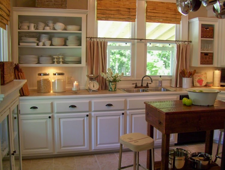 15 Elegant kitchen window curtains for window decoratio