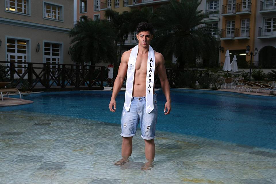 Mister Alagoas - Diêgo Farias, 26 anos, 1,85 m - Foto: Leonardo Rodrigues
