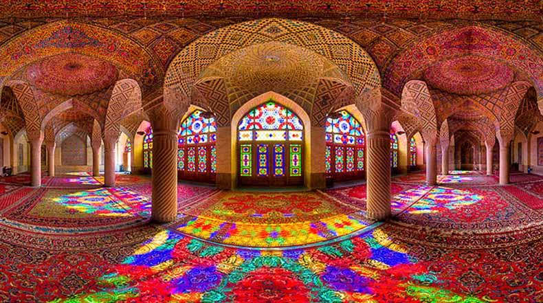 Magníficas arquitecturas de mezquitas de Iran capturado en raras fotos por Mohammad Domiri