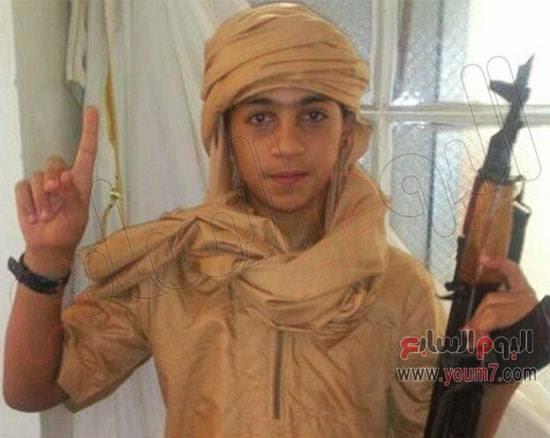 """""""يونس"""" أصغر صبى أوروبى ينضم إلى تنظيم داعش !!"""
