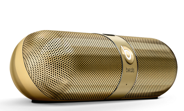 Beats by Dr. Dre Launched Premium Gloss Gold Edition beats pill 2.0