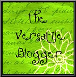 "Premio ""The versatile Blogger"""