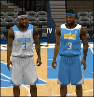 NBA 2K13 Denver Nuggets Practice Jersey Patch