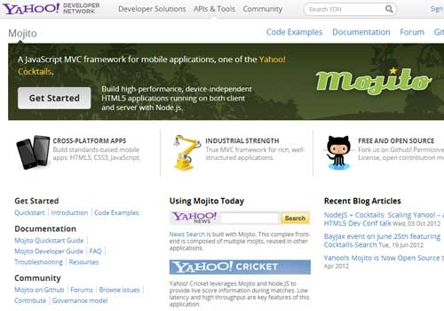 Mojito ~ 43 Useful and Time Saving Web Development Kits and Frameworks