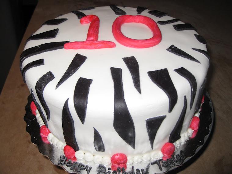 Zebra stripes!