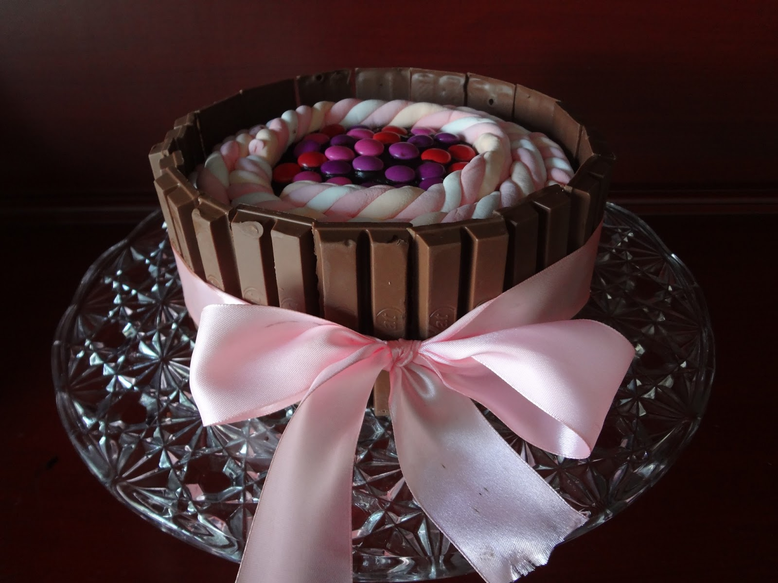 Shocks And Shoes A Kit Kat Birthday Cake