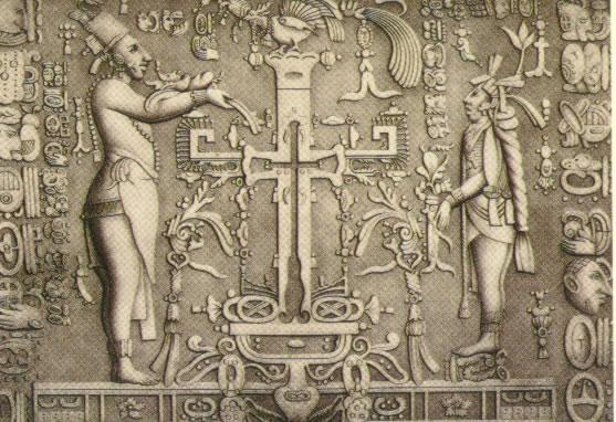 Mayan Cross Symbol