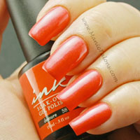 Glam and Glits Ink Gel Polish Demure Swatch