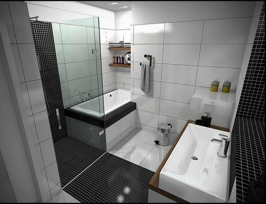 kamar mandi yang elegan, modern, menarik, dan juga ramah di mata