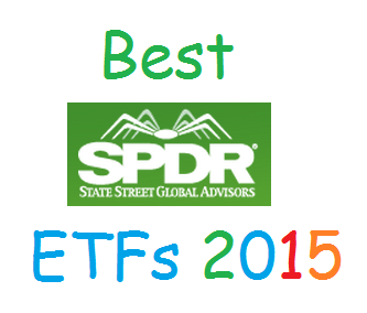 Best SPDR ETFs for 2015