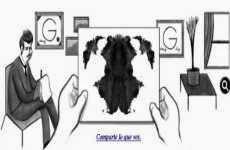 Hermann Rorschach: doodle de Google, 8 de noviembre
