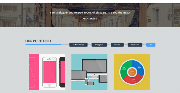 Themelily Blogger Template