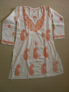 Pure Cotton White Kurta