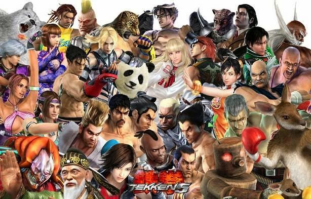 tekken 5 game characters
