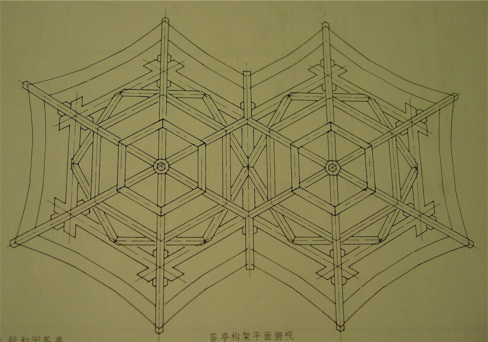 The carpentry way orphan the story of the gazebo ii for Hexagonal roof framing