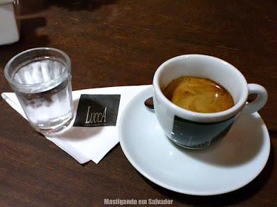 Lucca Cafés Especiais: Café Espresso Grão Nero (degustação)