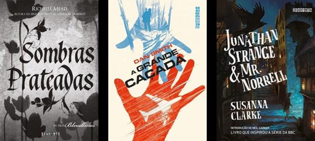 Lançamento de Livros - Março e Abril / Editora Seguinte