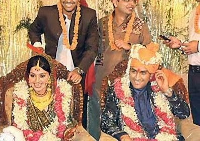 Famous Indian Crickets Wedding Stills