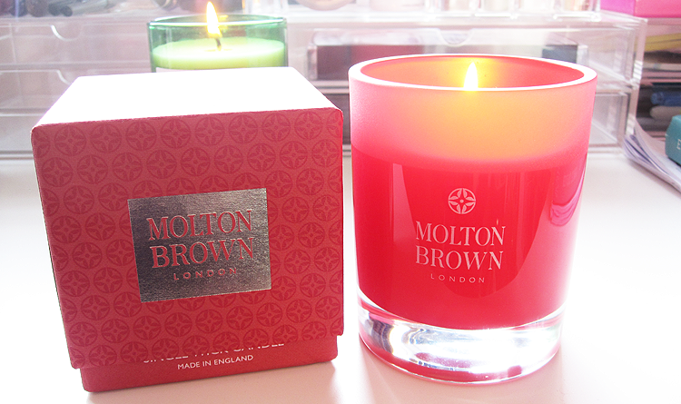 Molton Brown Festive Frankincense & Allspice Candle review