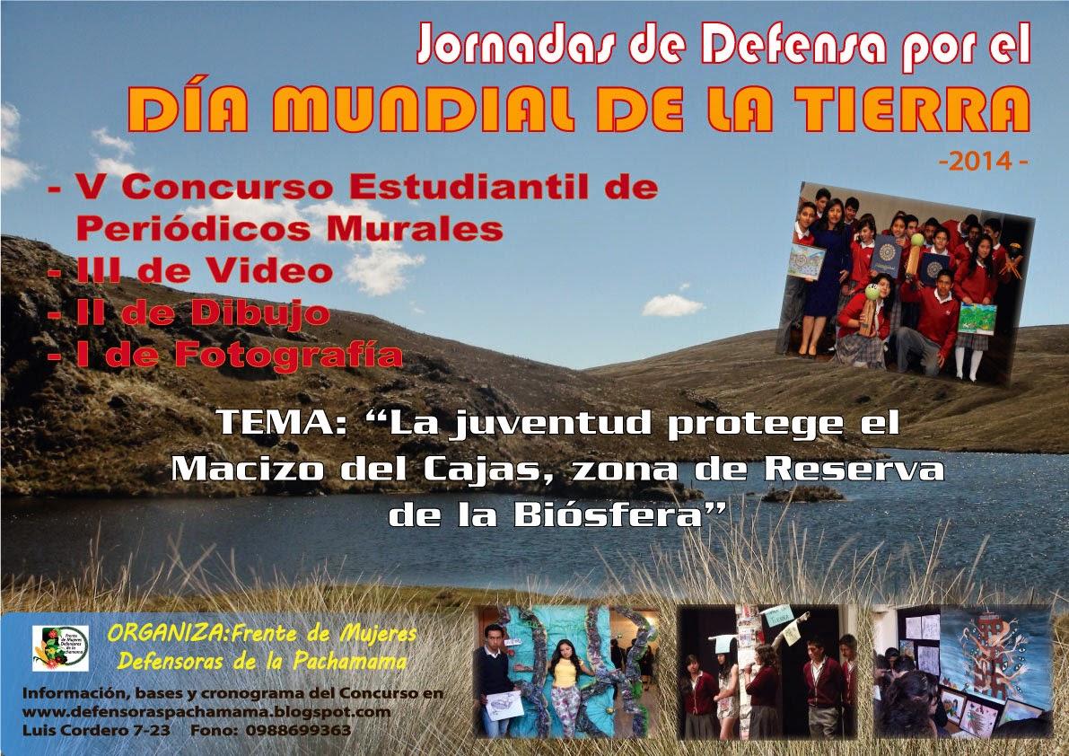 Jornadas de Defensa por el Día Mundial de la Madre Tierra