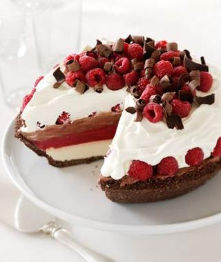 From Our Kitchen To Yours: Raspberry Cream Pie