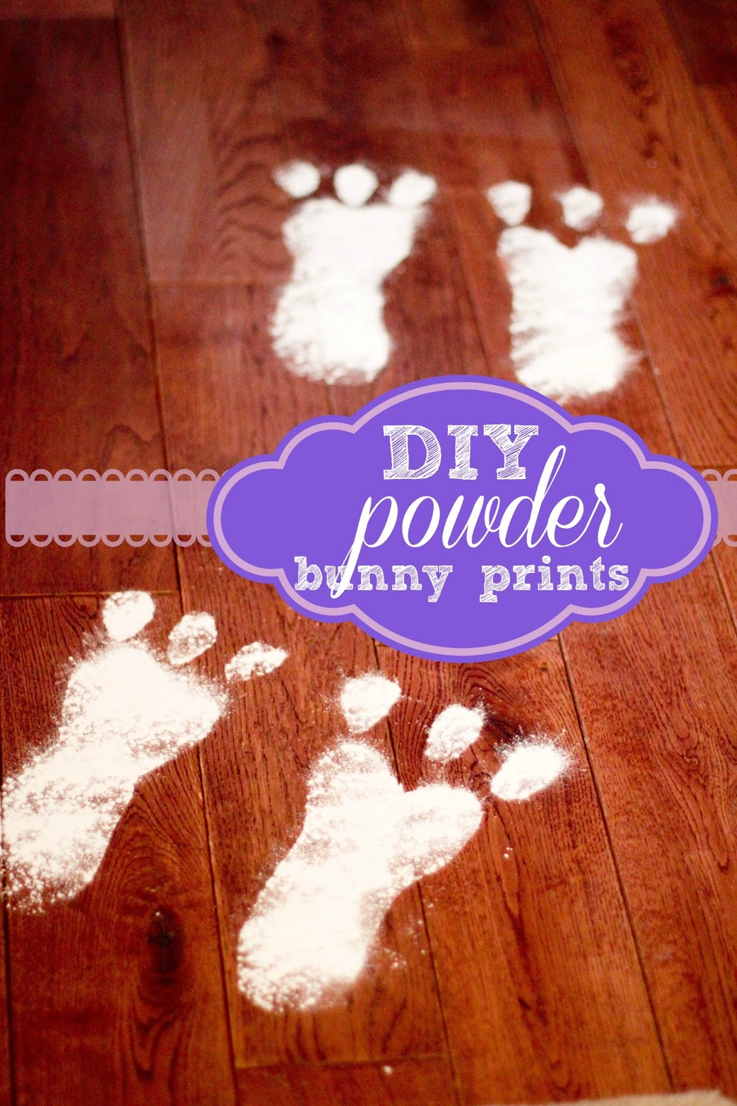 Hop To It: A Bunny Powder Print Howto!