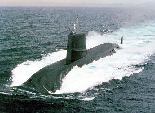 Nhật được cho là có thể xuất khẩu tàu ngầm trong tương lai - Ảnh: Military-today.com