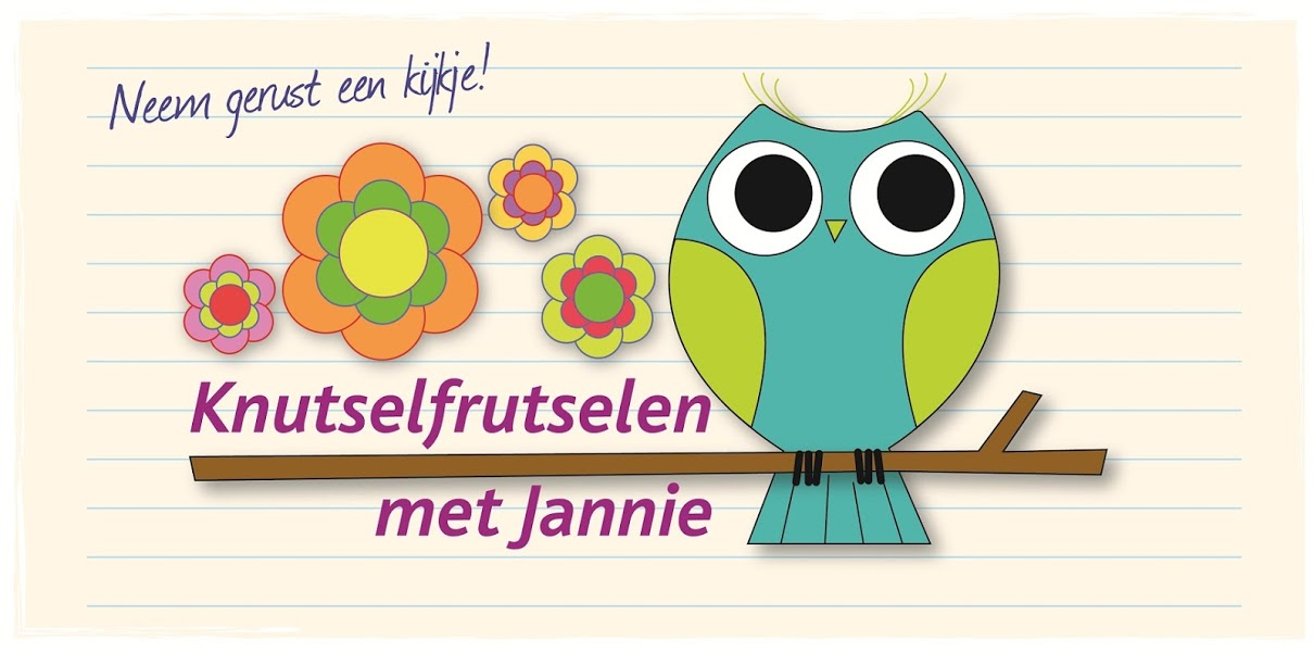 <center>Knutselfrutselen met Jannie</center>