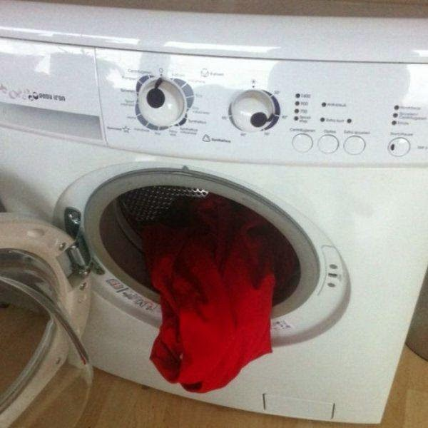 Disgusted Washing Machine