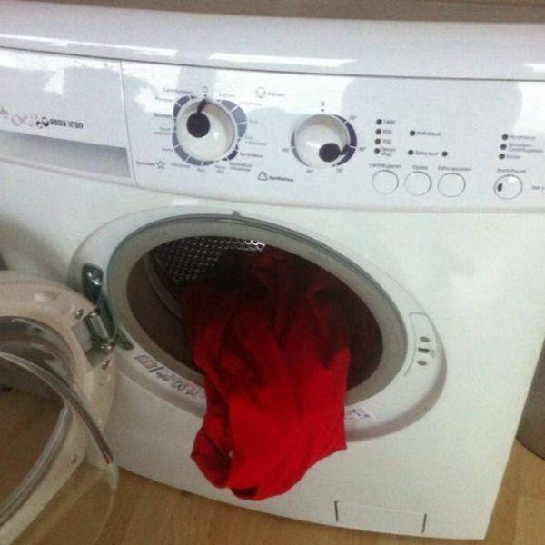 Disgusted Washing Machine