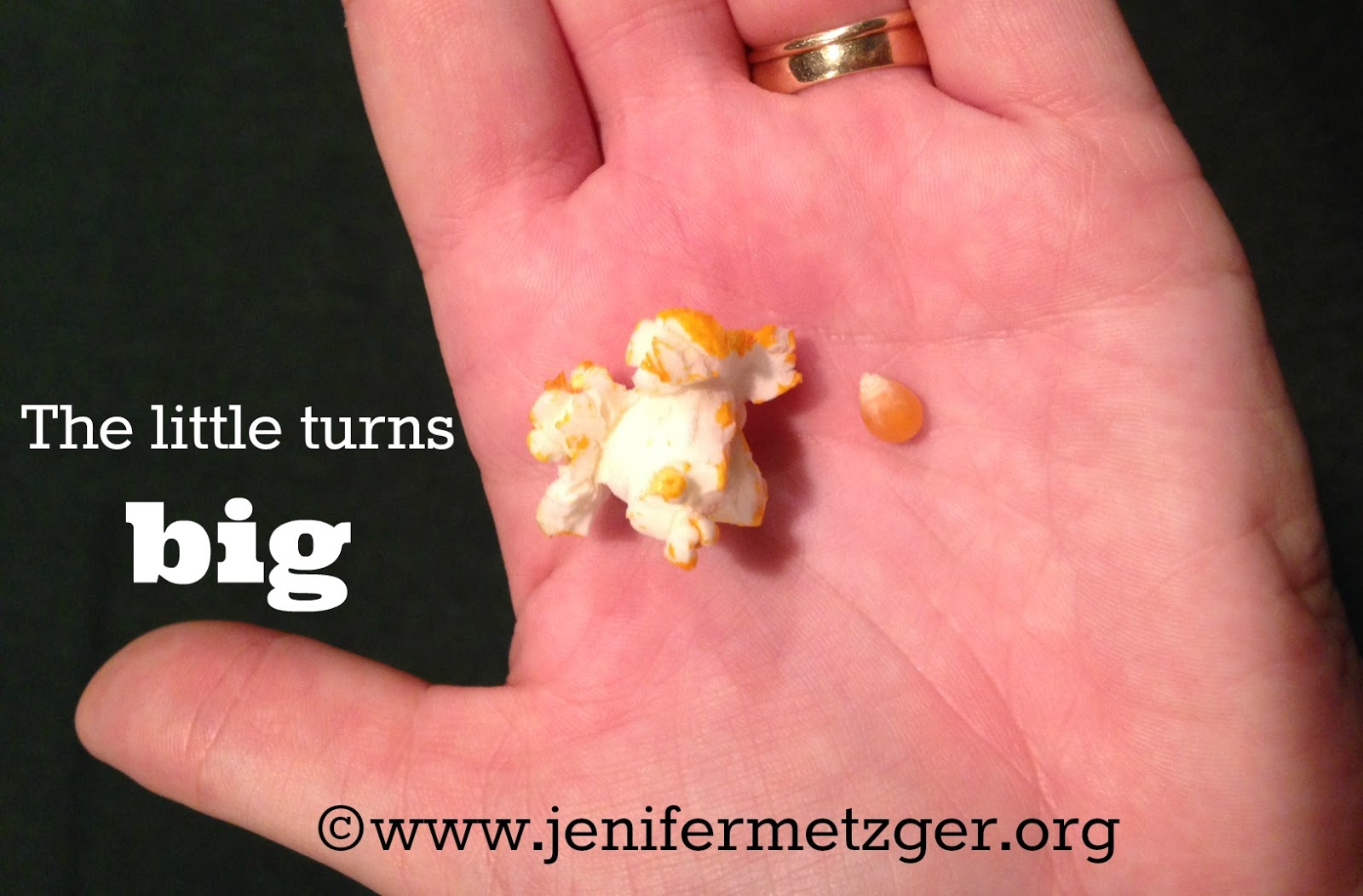 God can turn little things into big things. #encouragement #inspiration #blessings