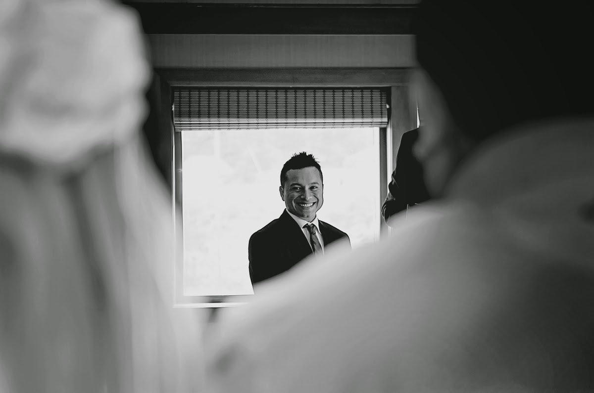 Miki enters and sees Luis for the first time - Kent Buttars, Seattle Wedding Officiant