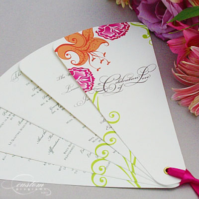 Wedding  Programs on Diy Wedding Programs   Cherish Paperie