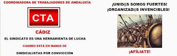 Sindicato CTA en la provincia de Cádiz