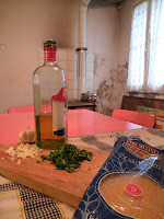 Spaghetti Aglio Olio ingredients