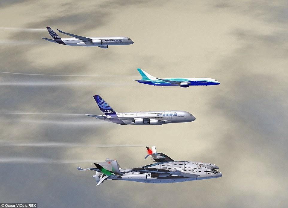 αν ήταν να κατασκευαστεί, το νέο Progress Eagle, θα επισκίαζε ακόμη και τα μεγαλύτερα αεροσκάφη που χρησιμοποιούνται για τη μεταφορά επιβατών σήμερα