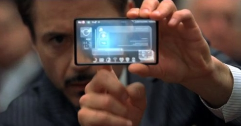 transparent mobile phone concept