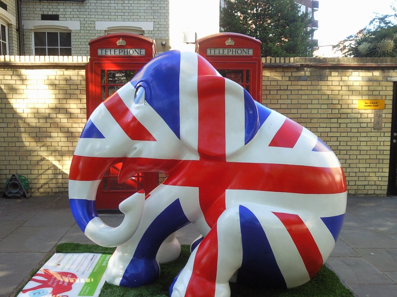 A Patriotic Elephant - Made In Chelsea!
