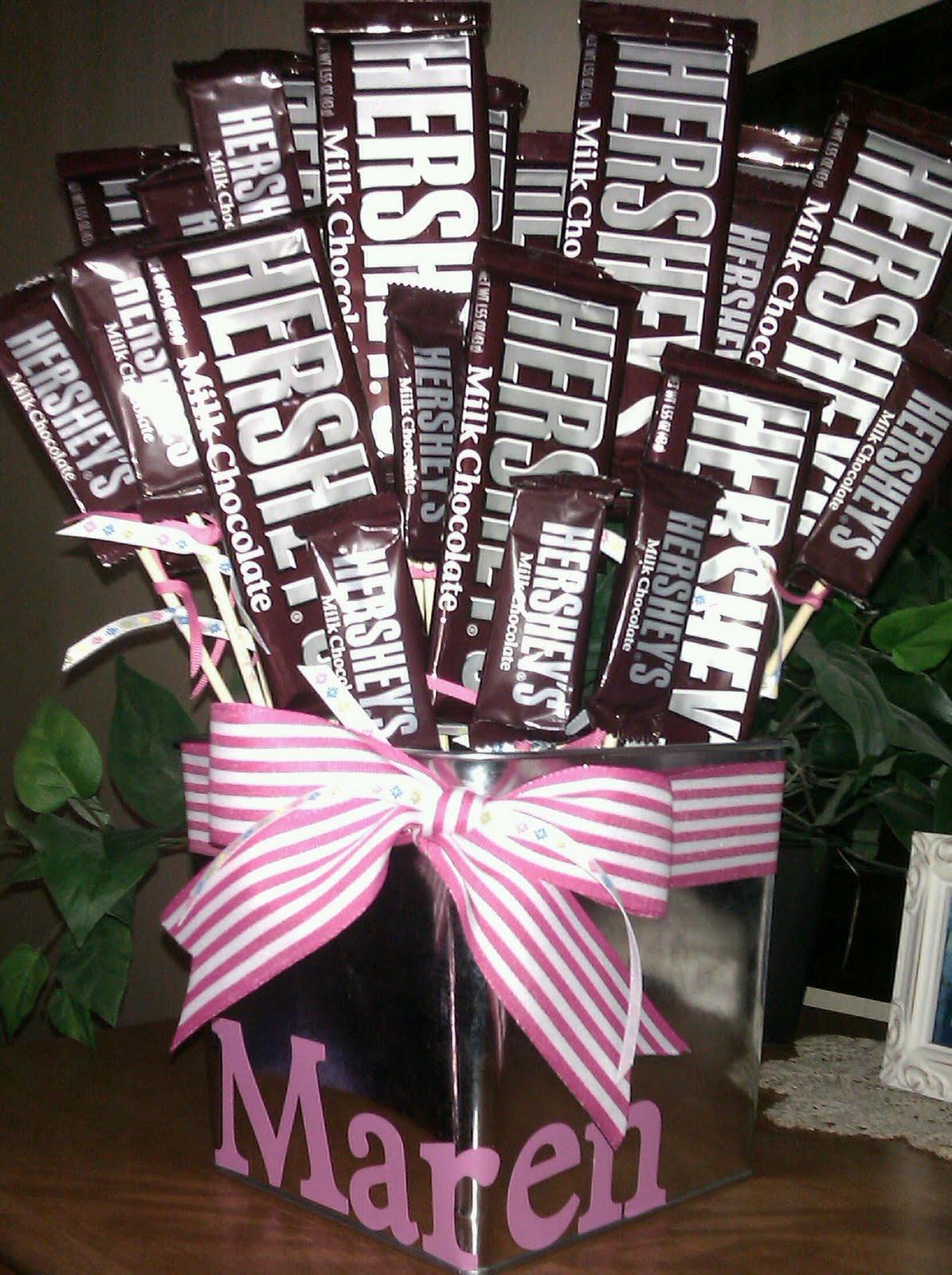 Diy Chocolate Bars Bouquet
