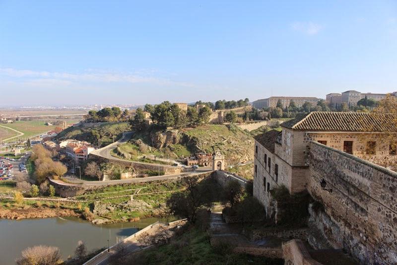 Vistas mirador Toledo, España