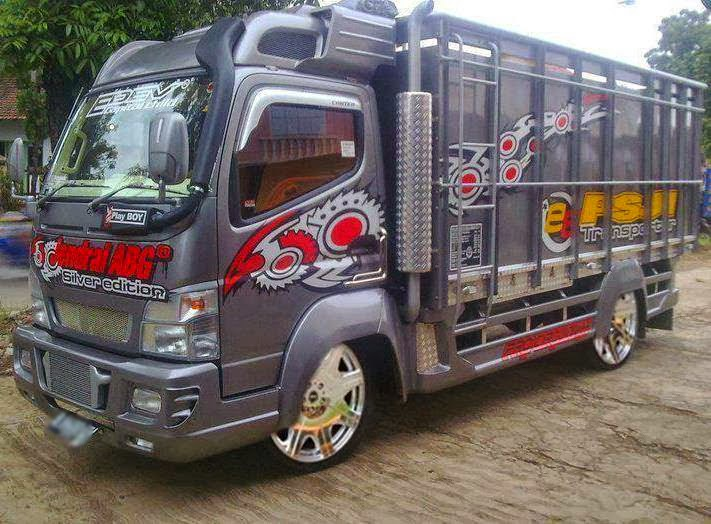 Kumpulan Foto Modifikasi Truk Indonesia Terbaru | Modif Motor Mobil