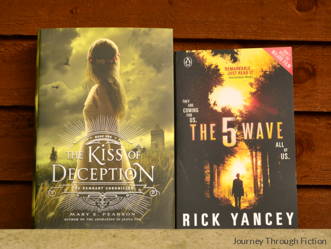 The Kiss of Deception by Mary E. Pearson The 5th Wave by Rick Yancey Journey Through Fiction weekly wrap up